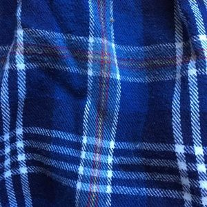 St. John's Bay Intimates & Sleepwear - St. John's Bay Blue Plaid Flannel PJ Pants